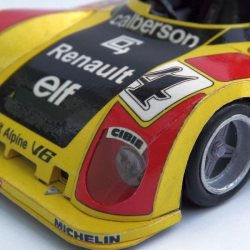 model Alpine Renault A442